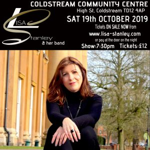 Lisa Stanley and her band @ Coldstream Community Centyre